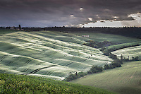 Rolling hills with interesting light. (Photo by Travel Photographer Matt Considine)