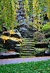 Stairs and steps, Rockefeller Estate, Pocantico Hills, New York