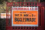 Stourbridge v Biggleswade Town 09/11/2013