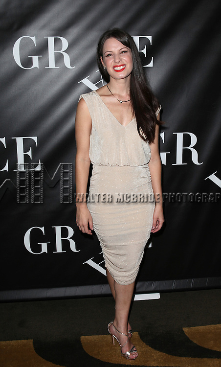 Kate Arrington attending the Opening Night Performance After Party for 'Grace' at The Copacabana in New York City on 10/4/2012.
