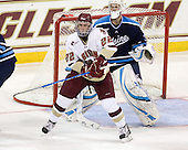 Paul Carey (BC - 22), Dan Sullivan (Maine - 30) - The Boston College Eagles defeated the visiting University of Maine Black Bears 4-1 on Sunday, November 21, 2010, at Conte Forum in Chestnut Hill, Massachusetts.