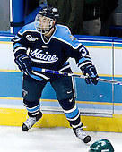Chris Hahn (University of Maine - Fort Qu'Appelle, SK) - The Michigan State Spartans defeated the University of Maine Black Bears 4-2 in their 2007 Frozen Four semi-final on Thursday, April 5, 2007, at the Scottrade Center in St. Louis, Missouri.