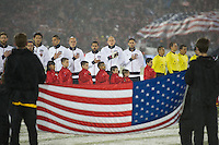 Commerce City,  Co - Friday, March 22, 2013: USA 1-0 over Costa Rica at Dick's Sporting Goods Park during World Cup Qualifying.