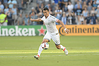 Kansas City, KS. - July 10, 2016: Sporting Kansas City defeated New York City FC 3-1 in a MLS game at Children's Mercy Park.