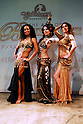 Members of U.S.-based international group Bellydance Superstars pose for the press in Tokyo on Tuesday. The group will have its first Japan tour in Tokyo and Hyogo from May 16 to 19.  14 January, 2009. (Taro Fujimoto/JapanToday/Nippon News)