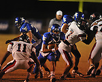 Water Valley's E.J. Bounds (5) runs vs. Nettleton in Water Valley, Miss. on Friday, October 14, 2011. Water Valley won 53-7.