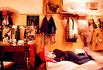 Dressing room, Bolshoi Ballet, Moscow, Russia, 2001