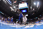 MILWAUKEE, WI - MARCH 18: Middle Tennessee Blue Raiders and Butler Bulldogs go up for a rebound during the first half of the 2017 NCAA Men's Basketball Tournament held at BMO Harris Bradley Center on March 18, 2017 in Milwaukee, Wisconsin. (Photo by Jamie Schwaberow/NCAA Photos via Getty Images)