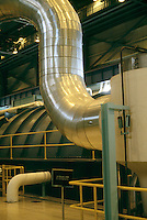 PGE TROJAN NUCLEAR POWER GENERATING PLANT<br /> Turbine Generators<br /> Low pressure turbine &amp; duct.