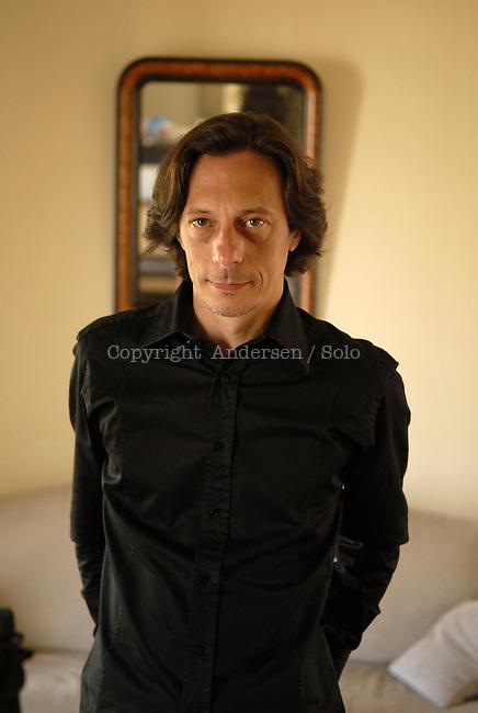 Eric Paradisi, French writer in 2007.