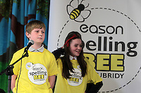 NO FEE PICTURES.8/3/12 Luke Sewell, Scoil Craoi  R Naofai, taking part in the Dublin County final, part of the overall Eason 2012 Spelling Bee, held at St Olaf's NS, Dundrum. .For further details visit www.easons.com/spellingbee and stay tuned to RTE 2fm. Picture:Arthur Carron/Collins