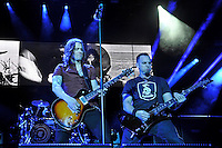 LONDON, ENGLAND - NOVEMBER 24: Myles Kennedy and Mark Tremonti of 'Alter Bridge' performing at the O2 Arena on November 24, 2016 in London, England.<br /> CAP/MAR<br /> &copy;MAR/Capital Pictures /MediaPunch ***NORTH AND SOUTH AMERICAS ONLY**