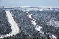 Trans Alaska Oil Pipeline, James Dalton Highway, Arctic, Alaska.