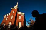 The city of Saint George in southern Utah, nicknamed Utah's Dixie.
