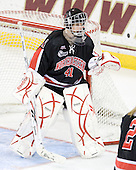 Florence Schelling (NU - 41) - The Northeastern University Huskies tied Boston University Terriers 3-3 in the 2011 Beanpot consolation game on Tuesday, February 15, 2011, at Conte Forum in Chestnut Hill, Massachusetts.
