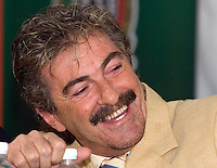 Mexico's national soccer team coach Ricardo Antonio Lavolpe smiles during a press conference as he announces the official list of 26 players selected to play in the upcoming 2006 FIFA World Cup in Germany, April 02, 2006... Photo by © Javier Rodriguez