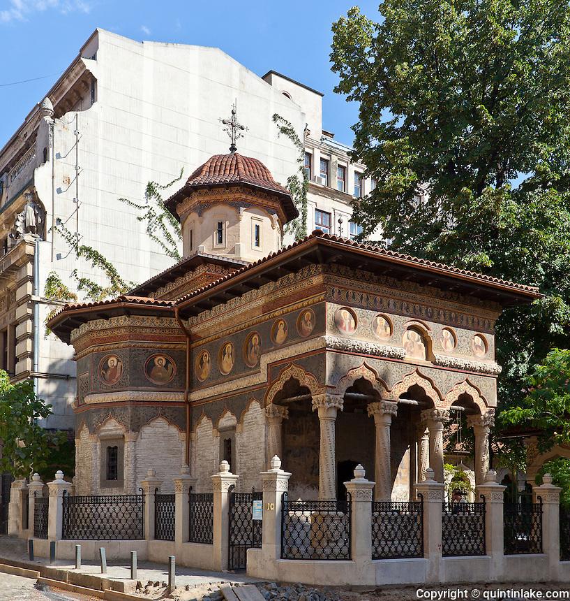 Stavropoleos monastery bucharest quintin lake photography - Romanian architectural styles ...