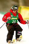 15 January 2005 - Lake Placid, New York, USA - Mariangela Fabia Parravicini representing Italy, competes in the FIS World Cup Ladies' Moguls Freestyle ski competition, ranking 27th for the day, at Whiteface Mountain, Lake Placid, NY. ..Mandatory Credit: Ed Wolfstein Photo.