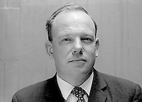 Ken Young, NILP, candidate, North Down, N Ireland, in June 1970 UK General Election. 197005200211<br /> <br /> Copyright Image from Victor Patterson,<br /> 54 Dorchester Park, Belfast, UK, BT9 6RJ<br /> <br /> t1: +44 28 90661296<br /> t2: +44 28 90022446<br /> m: +44 7802 353836<br /> <br /> e1: victorpatterson@me.com<br /> e2: victorpatterson@gmail.com<br /> <br /> For my Terms and Conditions of Use go to<br /> www.victorpatterson.com