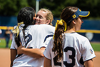 Berkeley, CA, May 5, 2013.Cal Women's Softball versus Stanford. Stanford won 7-5. Senior Day.