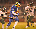 Oxford High's Stan Ivy (6) makes a catch vs. West Point in high school playoff action in Oxford, Miss. on Friday, November 19, 2010. West Point won 27-12.