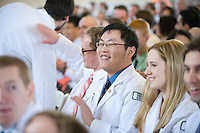 White Coat Ceremony, class of 2015. Liqun Chen.