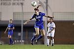 13 October 2011: Duke's Katie Trees. The University of North Carolina Tar Heels defeated the Duke University Blue Devils 1-0 at Fetzer Field in Chapel Hill, North Carolina in an NCAA Division I Women's Soccer game.