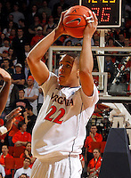CHARLOTTESVILLE, VA- JANUARY 7: Malcolm Brogdon #22 of the Virginia Cavaliers handles the ball during the game against the Miami Hurricanes on January 7, 2012 at the John Paul Jones Arena in Charlottesville, Virginia. Virginia defeated Miami 52-51. (Photo by Andrew Shurtleff/Getty Images) *** Local Caption *** Malcolm Brogdon