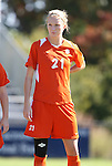 26 October 2008: Clemson's Molly Johnson. The Duke University Blue Devils defeated the Clemson University Tigers 6-0 at Koskinen Stadium in Durham, North Carolina in an NCAA Division I Women's college soccer game.
