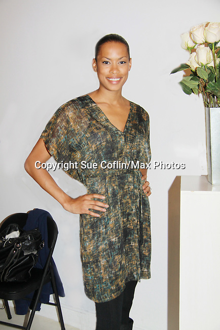 One Life To Live's Kearran Giovanni at Let's Celebrate - The Diva Gals Style Lounge on October 5, 2011 at Select Strands, New York City, New York. DivaGalsDaily.com is the premier website inspiring DivaGals around the globe to celebrate evry living moment in a savvy, sophisticated and social way.  (Photo by Sue Coflin/Max Photos)
