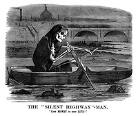"The ""Silent Highway""-Man. ""Your MONEY or your LIFE!"""