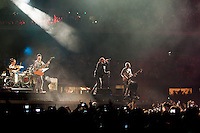 U2 performing at Etihad Stadium, Melbourne on their 360 tour, 1 December 2010