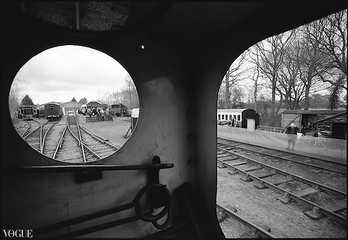 Engine View, Mid-Suffolk Light Railway by Paul Cooklin