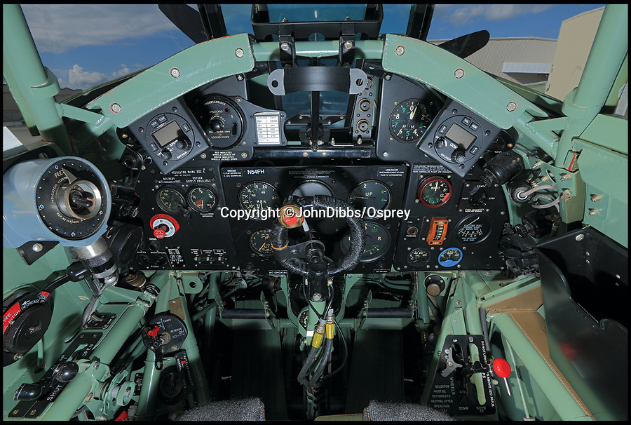 BNPS.co.uk (01202 558833)<br /> Pic: JohnDibbs/Osprey/BNPS<br /> <br /> Faithfully restored cockpit of a Hurricane - with a few modern editions like GPS for safety.<br /> <br /> Last of the Few - A photographer's stunning new book is a tribute to the last Hawker Hurricane's - the true workhorse of the Battle of Britain.<br /> <br /> Only 13 WW2 Hurricanes are still airworthy today, compared to over 60 of their more glamorous counterpart the Spitfire.<br /> <br /> But during the Battle of Britain there were in fact twice as many Hurricane's as Spitfires taking on Hitlers Luftwaffe in the skies over southern England.<br /> <br /> The Hurricane may be viewed as less glamorous than the Spitfire, but these stunning photographs reveal just how majestic it was in full flight.<br /> <br /> Photographer John Dibbs has got up close and personal to the legendary fighter planes in order to capture them like never before.<br /> <br /> His 10 year quest for surviving Hurricanes took him all over the world and he photographed them in England, France, the United States and New Zealand.<br /> <br /> Using the skill and experience of highly experienced RAF and civilian pilots, Mr Dibbs was able to fly to within 15ft of some of the last remaining Hurricanes - with breath-taking results.<br /> <br /> There was a fair degree of skill involved as he took the photos from the canopy of a Second World War trainer aircraft which was travelling at 200mph while confronting wind blast.<br /> <br /> The thrilling photos were taken for an a definitive history of the Hurricane which is told by Mr Dibbs and aviation historians Tony Holmes and Gordon Riley in their new book Hurricane, Hawker's Fighter Legend.