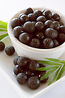 Photos & pictures of the  Brazilian acai palm berries the super fruit anti oxident from the Amazon. Acai berries has been used to help weight loss. Stock-fotos