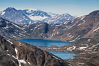 Mountain landscape, Tasiilaq, Greenland