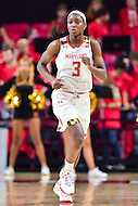 College Park, MD - NOV 16, 2016: Maryland Terrapins guard Kaila Charles (3) in action during game between Maryland and Maryland Eastern Shore Lady Hawks at XFINITY Center in College Park, MD. The Terps defeated the Lady Hawks 106-61. (Photo by Phil Peters/Media Images International)
