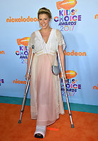 Actress Jodie Sweetin at the Nickelodeon 2017 Kids' Choice Awards at the USC's Galen Centre, Los Angeles, USA 11 March  2017<br /> Picture: Paul Smith/Featureflash/SilverHub 0208 004 5359 sales@silverhubmedia.com
