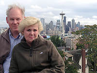 Linda and Alvah. Seattle.  Sept. 2013