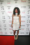 Recording Artist Wynter Gordon Attends New Premium Lounge Signed by INDASHIO Men's Collection Fashion Show at AUDI FORUM, NY  9/13/11