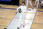 12 February 2017: Duke's Rita Somogyi during Epee. The Duke University Blue Devils hosted the Boston College Eagles at Card Gym in Durham, North Carolina in a 2017 College Women's Fencing match. Duke won the dual match 19-8 overall, 6-3 Foil, 5-4 Epee, and 8-1 Saber.