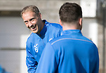 St Johnstone Training&hellip;.30.09.16<br />Steven Anderson pictured during training this morning<br />Picture by Graeme Hart.<br />Copyright Perthshire Picture Agency<br />Tel: 01738 623350  Mobile: 07990 594431