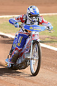 David Mason of Hackney Hawks in riding action - Hackney Hawks Speedway Press &amp; Practice Day at Arena Essex Raceway, Purfleet, Essex - 23/03/11 - MANDATORY CREDIT: Gavin Ellis/TGSPHOTO - Self billing applies where appropriate - Tel: 0845 094 6026