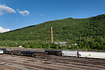 Railroad yard in Clifton Forge,  Virginia May 2011