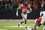 Ole Miss wide receiver Ja-Mes Logan (85) vs. Mississippi State at Vaught-Hemingway Stadium in Oxford, Miss. on Saturday, November 24, 2012. Ole Miss won 41-24.