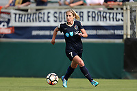 Cary, North Carolina  - Sunday May 21, 2017: McCall Zerboni during a regular season National Women's Soccer League (NWSL) match between the North Carolina Courage and the Chicago Red Stars at Sahlen's Stadium at WakeMed Soccer Park. Chicago won the game 3-1.