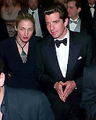 John F. Kennedy, Jr. and his wife, Carolyn Bessette Kennedy depart the Washington Hilton after the White House Correspondent's Dinner in Washington, D.C. on May 1, 1999..Credit: Ron Sachs / CNP
