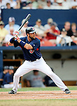 11 March 2008: Cleveland Indians' first baseman Casey Blake at bat during a Spring Training game against the Detroit Tigers at Chain of Lakes Park, in Winter Haven Florida. The Tigers rallied to defeat the Indians 4-2 in the Grapefruit League matchup...Mandatory Photo Credit: Ed Wolfstein Photo