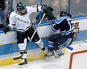 Daniel Vukovic (Michigan State - North York, ON), Keith Johnson (University of Maine - Windsor, CT) - The Michigan State Spartans defeated the University of Maine Black Bears 4-2 in their 2007 Frozen Four semi-final on Thursday, April 5, 2007, at the Scottrade Center in St. Louis, Missouri.