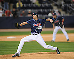 Mississippi's Matt Crouse pitches vs. Florida at Oxford-University Stadium on Saturday, March 27, 2010 in Oxford, Miss. Ole Miss won 15-3.
